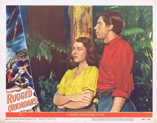 SONS OF MATTHEW aka THE RUGGED O'RIORDANS US Lobby Card 4 1949 Charles Chauvel