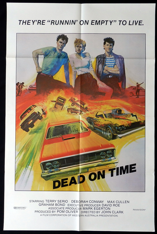 running on empty aka dead on time movie poster 1982 terry