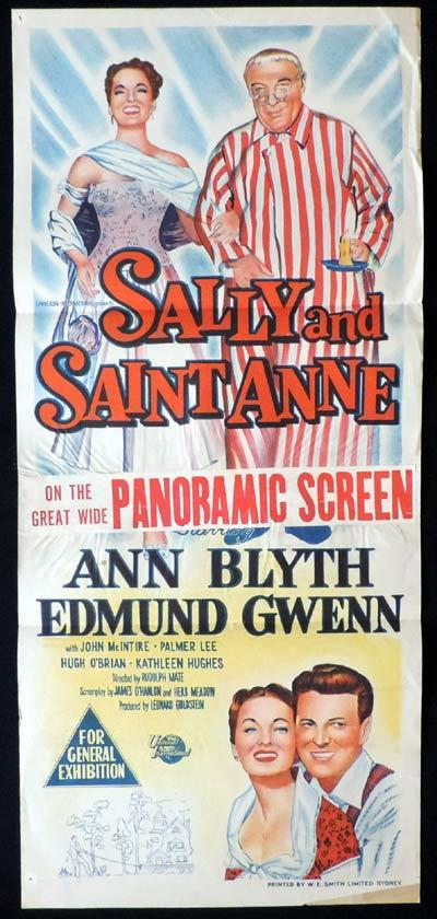 SALLY AND SAINT ANNE daybill Movie poster Rudolph Mate