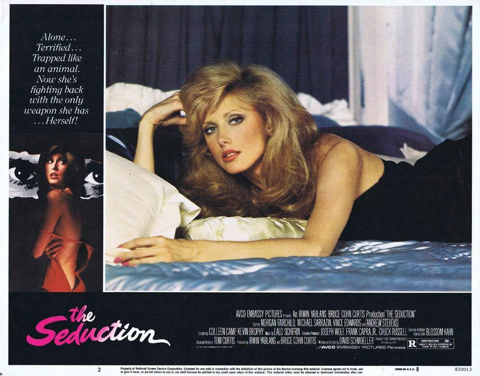 THE SEDUCTION Lobby Card 2 Morgan Fairchild Andrew Stevens