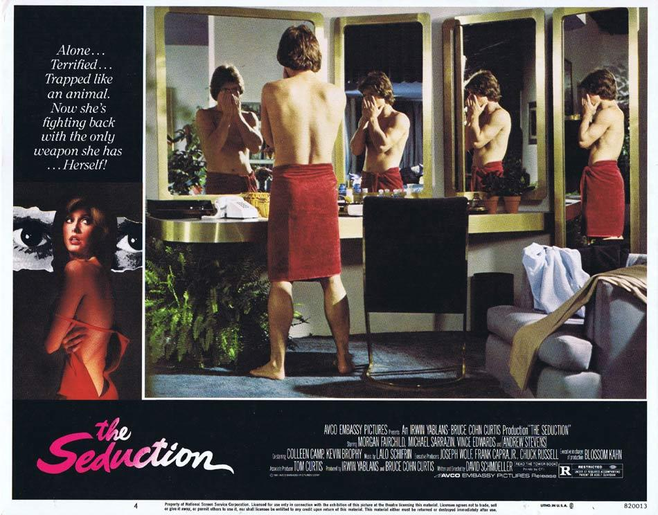 THE SEDUCTION Lobby Card 4 Morgan Fairchild Andrew Stevens
