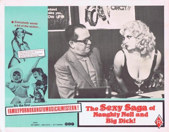 SEXY SAGA OF NAUGHTY NELL AND BIG DICK aka ESKIMO NELL Australian Lobby Card 4