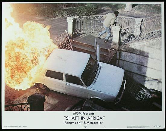 SHAFT IN AFRICA 1973 Richard Roundtree BLAXPLOITATION Lobby card #3