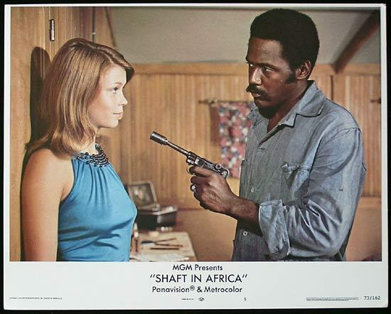 SHAFT IN AFRICA 1973 Richard Roundtree BLAXPLOITATION Lobby card #5