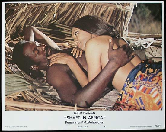 SHAFT IN AFRICA 1973 Richard Roundtree BLAXPLOITATION Lobby card #6