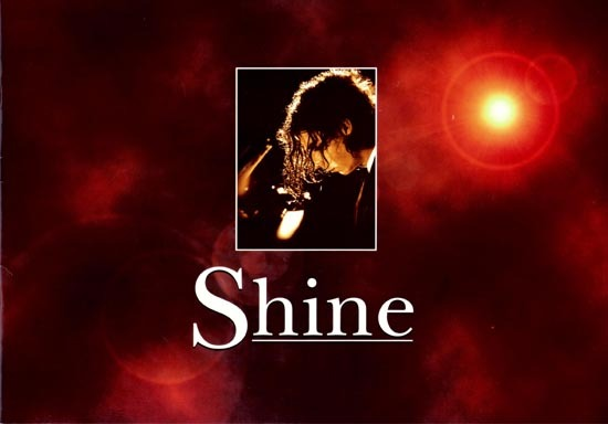 SHINE 1996 Geoffrey Rush ORIGINAL Australian Promotional Booklet