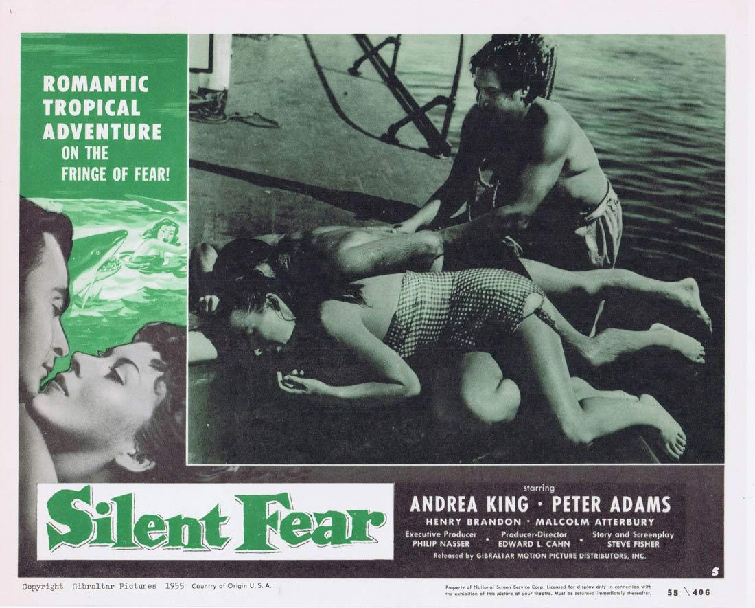 SILENT FEAR Lobby Card 5 Andrea King Peter Adams Henry Brandon