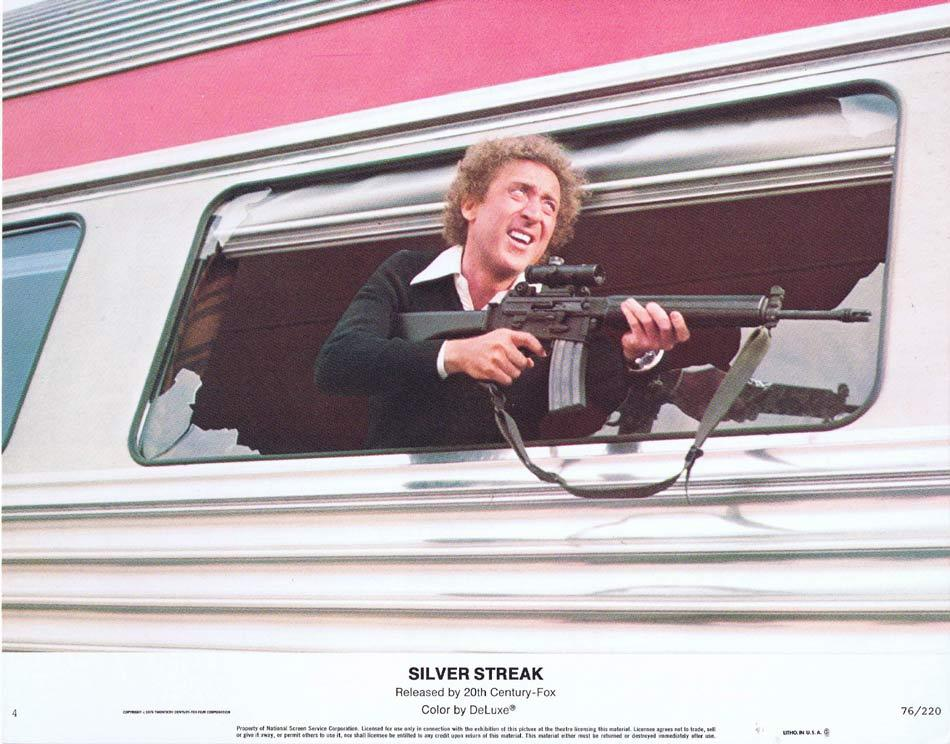 SILVER STREAK Lobby Card 4 Gene Wilder Jill Clayburgh Richard Pryor