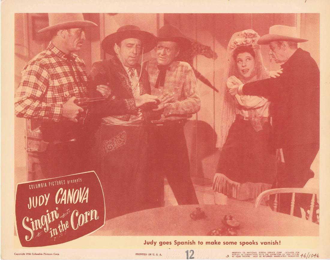 SINGIN IN THE CORN Lobby Card 4 Judy Canova Allen Jenkins Guinn 'Big Boy' Williams