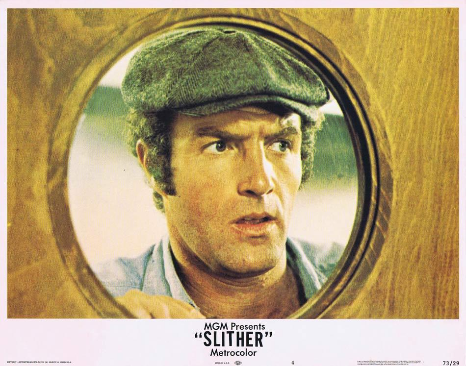 SLITHER Lobby Card 4 James Caan Peter Boyle Sally Kellerman