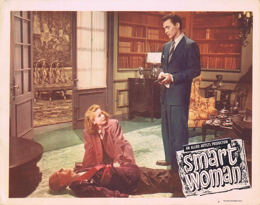 SMART WOMAN Lobby Card 8 Barry Sullivan Constance Bennett