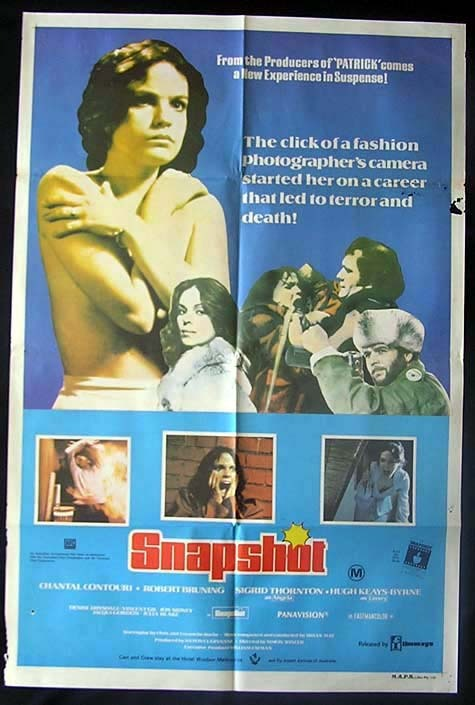 SNAPSHOT aka ONE MORE MINUTE 1979 Chantal Contouri Australian One sheet poster