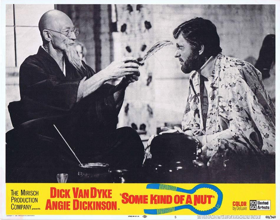SOME KIND OF A NUT Lobby Card 5 Dick Van Dyke Angie Dickinson Rosemary Forsyth