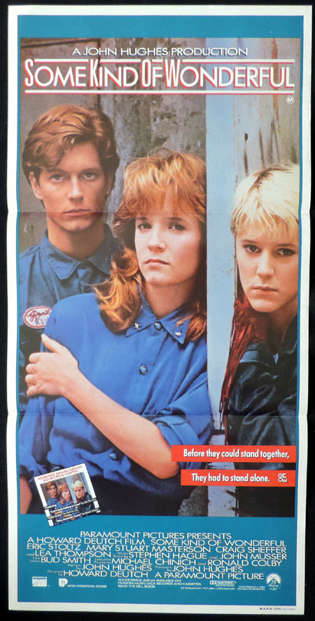 SOME KIND OF WONDERFUL Original Daybill Movie Poster Mary Stuart Masterson