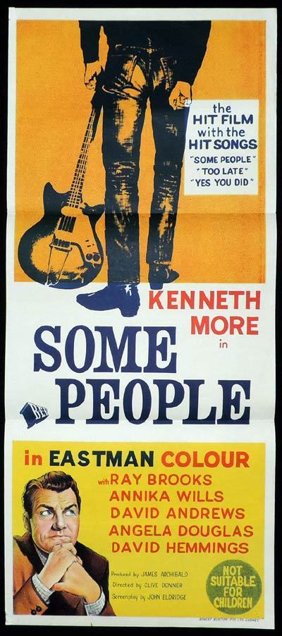 SOME PEOPLE Daybill Movie poster Kenneth More
