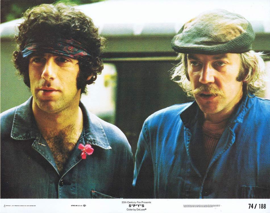 S*P*Y*S Lobby Card Elliott Gould Donald Sutherland