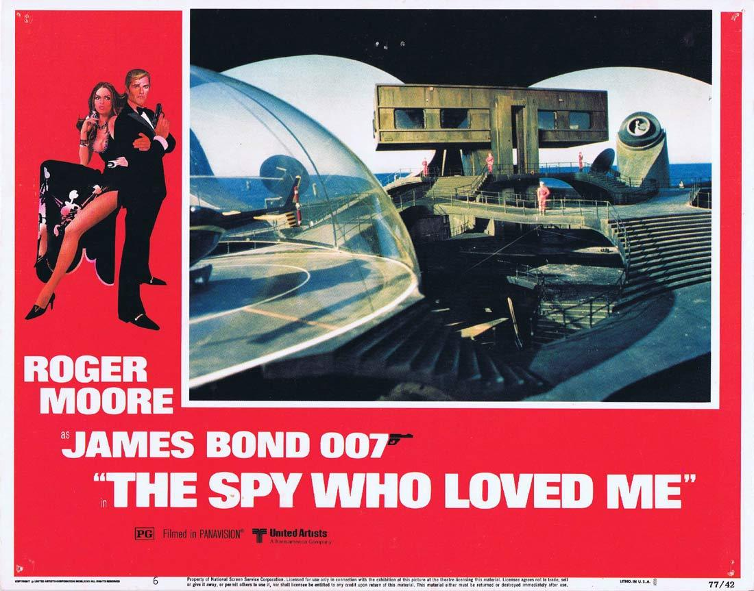 THE SPY WHO LOVED ME Original Lobby Card 6 Roger Moore Richard Kiel Jaws