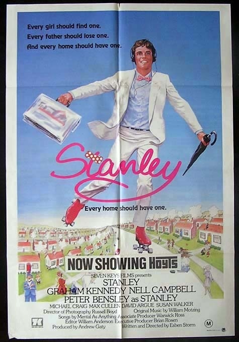 STANLEY EVERY HOME SHOULD HAVE ONE Graham Kennedy ONE SHEET Movie poster