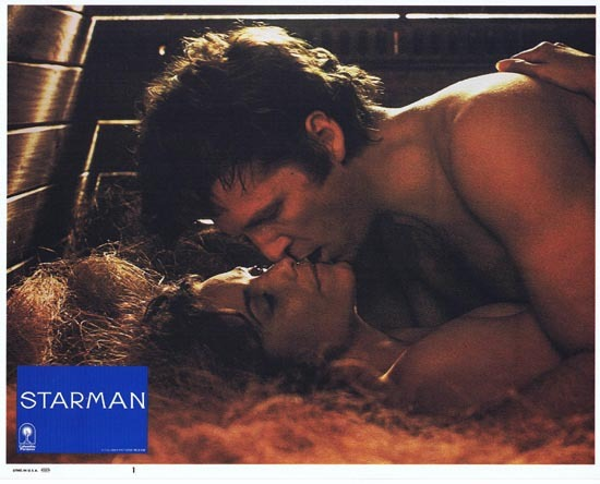 STARMAN 1984 Lobby Card 1 John Carpenter Jeff Bridges
