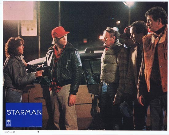 STARMAN 1984 Lobby Card 2 John Carpenter Jeff Bridges