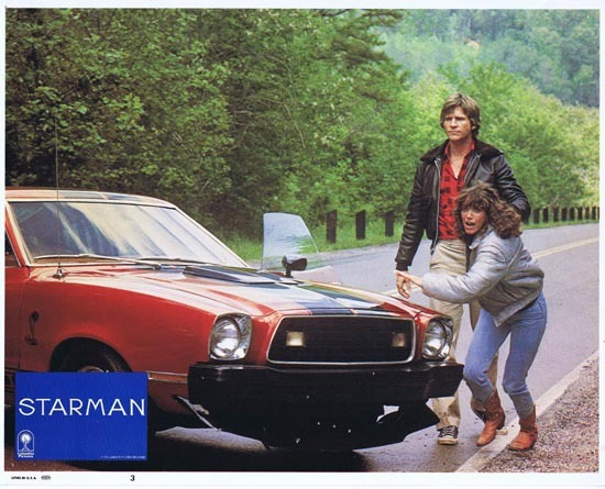 STARMAN 1984 Lobby Card 3 John Carpenter Jeff Bridges