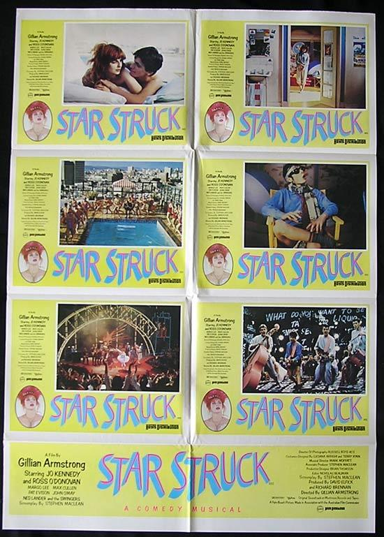 STARSTRUCK '82 Gillian Armstrong Rare Photo Sheet poster