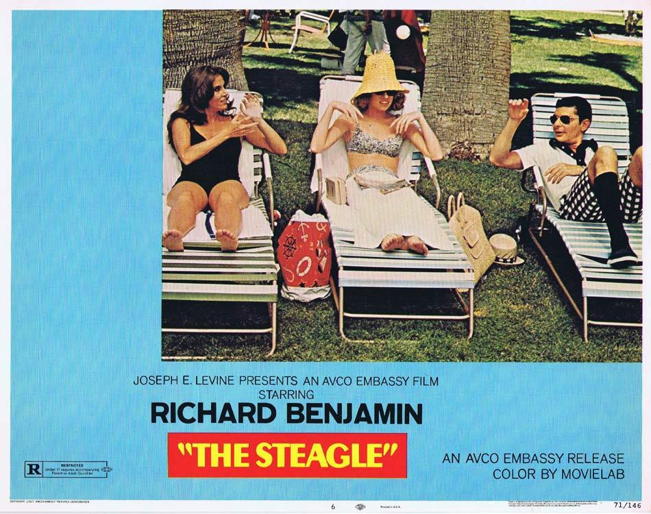 THE STEAGLE Lobby Card 6 Richard Benjamin Chill Wills Cloris Leachman