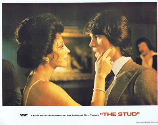 THE STUD 1978 Lobby Card 2 Joan Collins Oliver Tobias