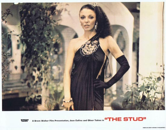 THE STUD 1978 Lobby Card 3 Joan Collins