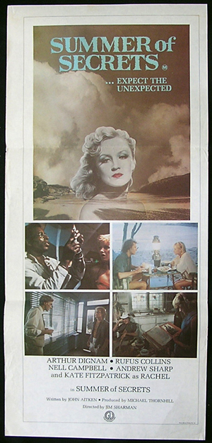 SUMMER OF SECRETS Movie poster 1977 Australian Cinema Kate Fitzpatrick Daybill