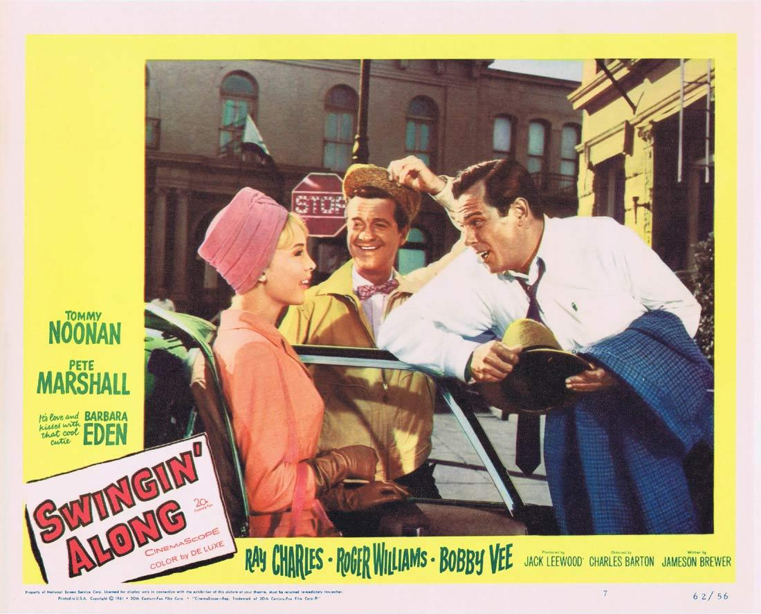 SWINGIN ALONG Lobby Card 7 Tommy Noonan Peter Marshall Barbara Eden