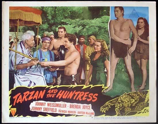Tarzan and the Huntress TARZAN AND THE HUNTRESS 1947 Johnny Weissmuller RARE Lobby card 8