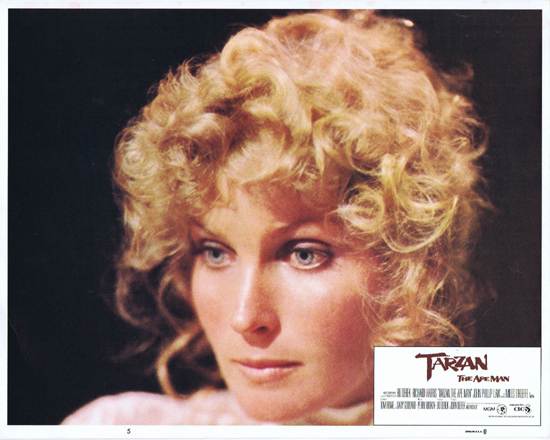 TARZAN THE APE MAN Lobby Card 5 1981 Bo Derek portrait