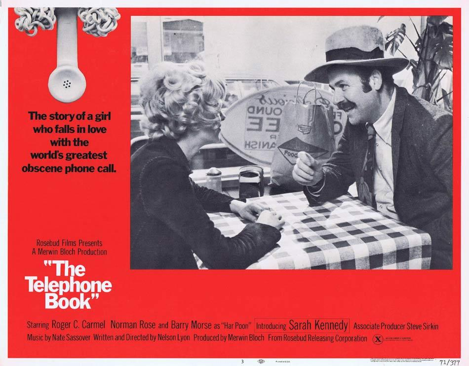 THE TELEPHONE BOOK Lobby Card 3 Norman Rose Barry Morse Sarah Kennedy