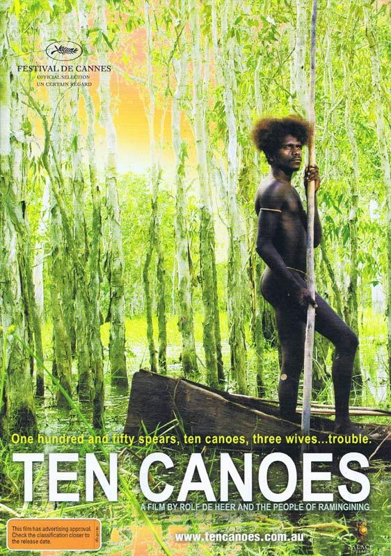 TEN CANOES Original Movie 6 page booklet / herald Rolf De Heer
