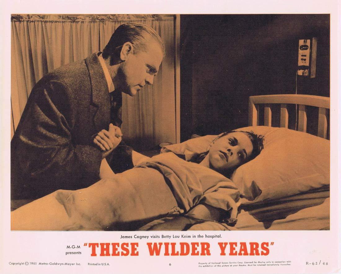 THESE WILDER YEARS Lobby Card 6 James Cagney Barbara Stanwyck Walter Pidgeon 1967r