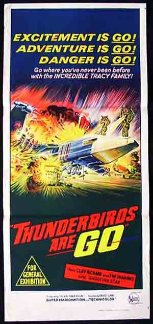 THUNDERBIRDS ARE GO Daybill Movie poster Sylvia Anderson