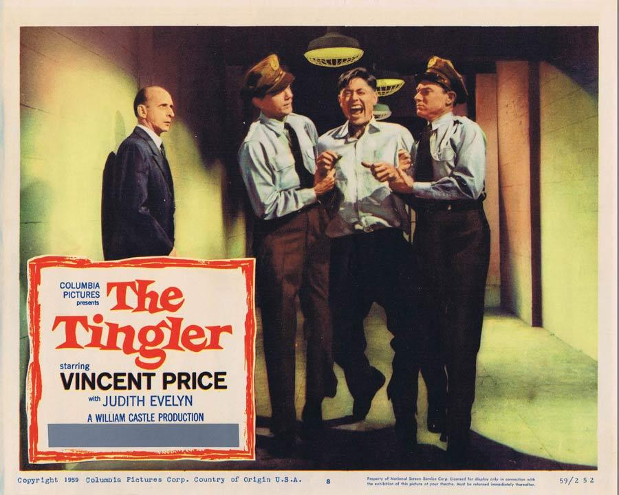 THE TINGLER Lobby Card 8 Vincent Price William Castle