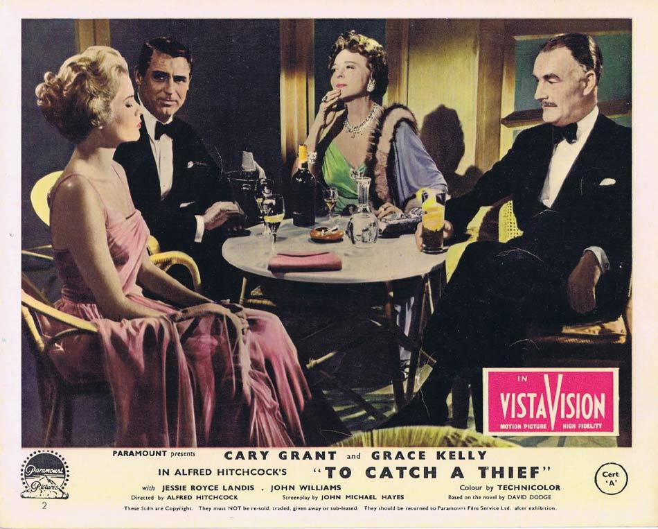 TO CATCH A THIEF Front of House Movie Still 6 Vintage 8 x 10 Cary Grant Alfred Hitchcock