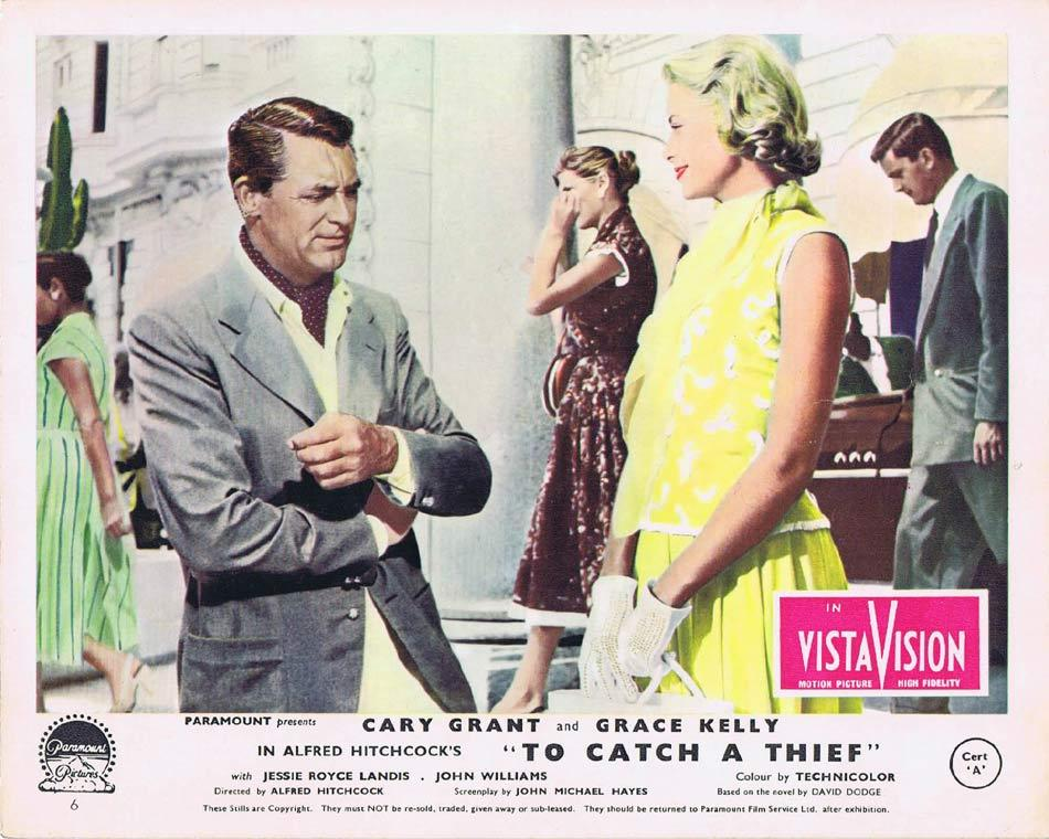 TO CATCH A THIEF Front of House Movie Still 8 Vintage 8 x 10 Cary Grant Alfred Hitchcock
