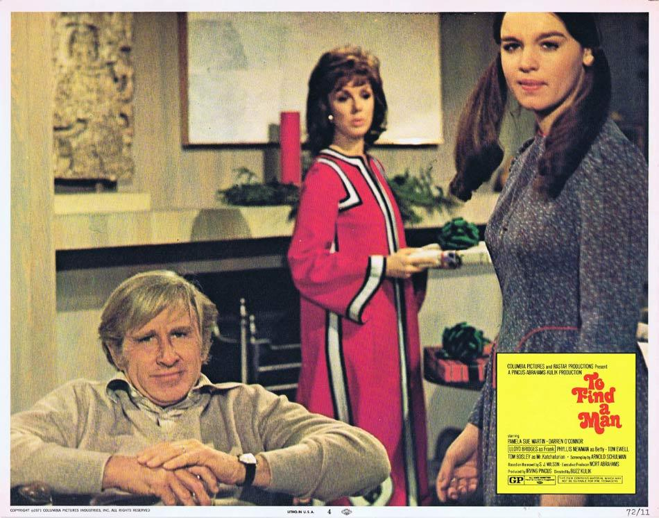 TO FIND A MAN Lobby Card 4 Pamela Sue Martin Darren O'Connor Lloyd Bridges