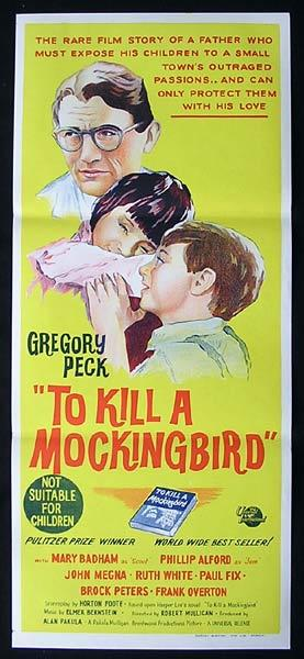 To Kill a Mockingbird, Robert Mulligan, Gregory Peck, Phillip Alford, William Windom, Rosemary Murphy, Robert Duvall, Brock Peters, Ruth White, Alice Ghostley, Frank Overton, Paul Fix, Collin Wilcox, John Megna, Mary Badham, Estelle Evans, James Anderson, Crahan Denton, Richard Hale, R.L. Armstrong, Bobby Barber, Danny Borzage