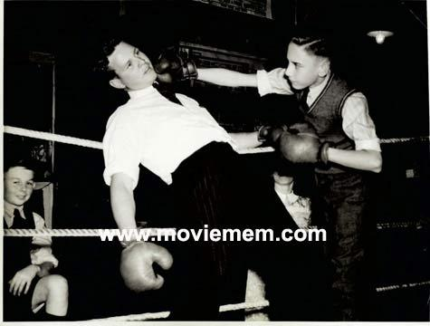 TOMMY BURNS c.1940s Rare BOXING Still BW photo 104