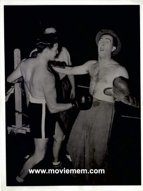 TOMMY BURNS c.1940s Rare BOXING Still BW photo 114