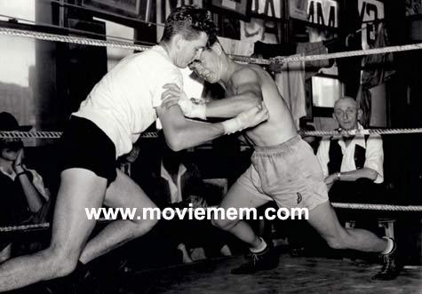 TOMMY BURNS c.1940s Rare BOXING Still BW photo 126