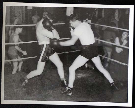 TOMMY BURNS c.1940s Rare BOXING Still BW photo 19