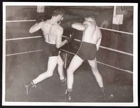 TOMMY BURNS c.1940s Rare BOXING Still BW photo 3