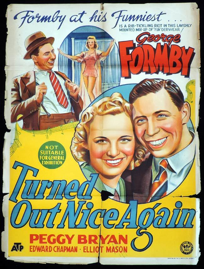 TURNED OUT NICE AGAIN One Sheet Movie Poster GEORGE FORMBY ...