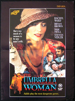 THE UMBRELLA WOMAN aka Peter McKenna's THE GOOD WIFE 1987 Video Movie poster