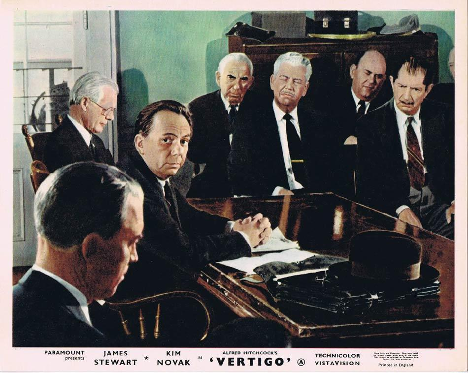 VERTIGO Front of House Movie Still 4 8 x 10 James Stewart Alfred Hitchcock